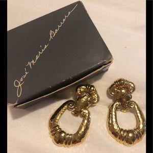 José Maria Barrera vintage earrings